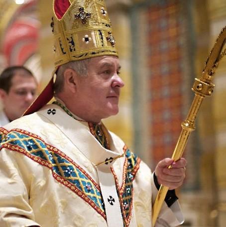 Archbishop Robert Carlson. - GEERLINGGUY PHOTO VIA