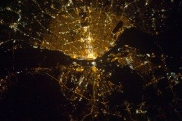 STL at night, from space - IMAGE VIA