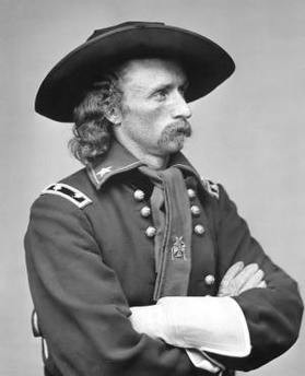George Custer: also not so good against Indians.
