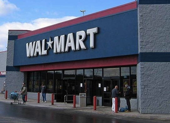 File photo of Walmart, where Hayes was accused of ordering racially biased arrests. - VIA WIKIMEDIA COMMONS