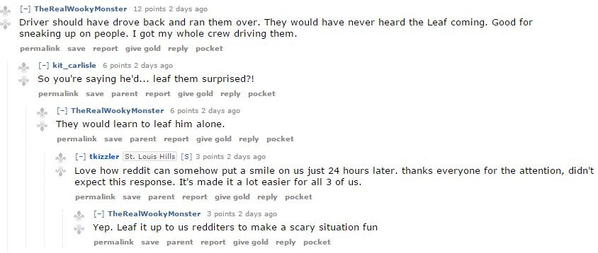 Reddit puns -- they hurt so good. - VIA
