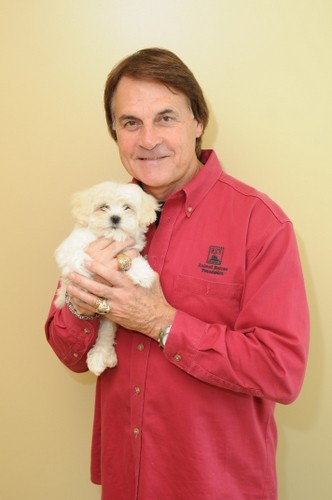 We've never seen such a big smile on La Russa.