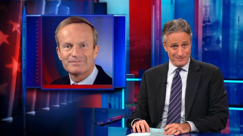 Todd Akin is Missouri's most popular late-night punching bag.