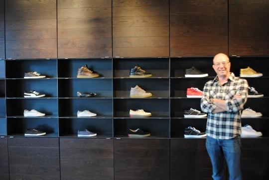 10denza is Chris Lanter's first retail business. - JULIA GABBERT