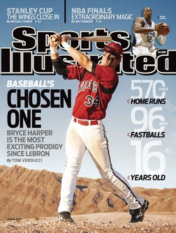 That's right. He's already the greatest player who has ever lived. Sports Illustrated says so.