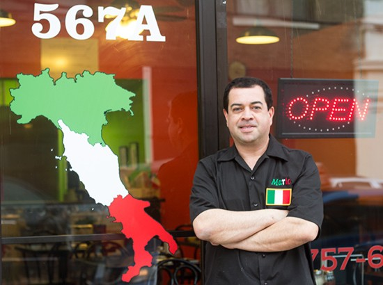 Chef-owner Mario Esquivel.