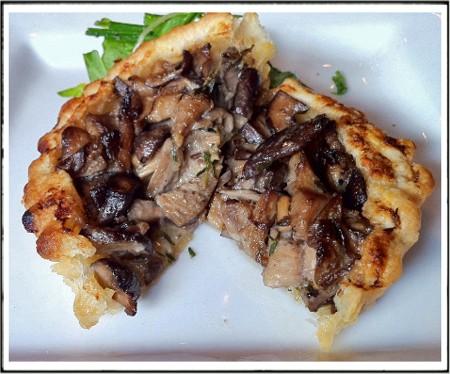 A mushroom tartlet. - BRYAN PETERS