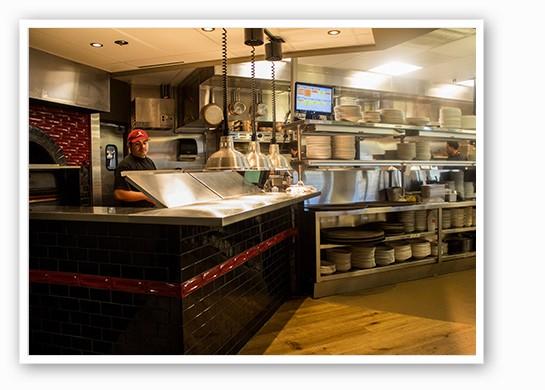 The open kitchen. | Mabel Suen