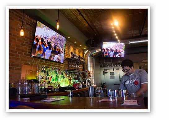 The bar. | Mabel Suen