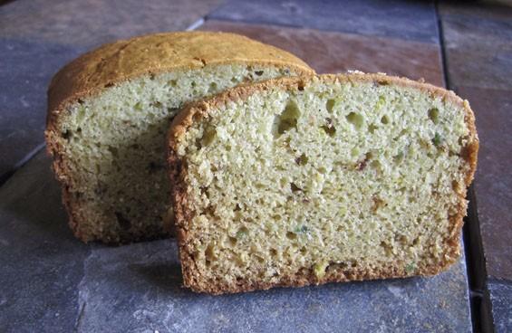 Sort of British-tasting, somehow: Lemon-lavender avocado loaf. - KRISTIE MCCLANAHAN
