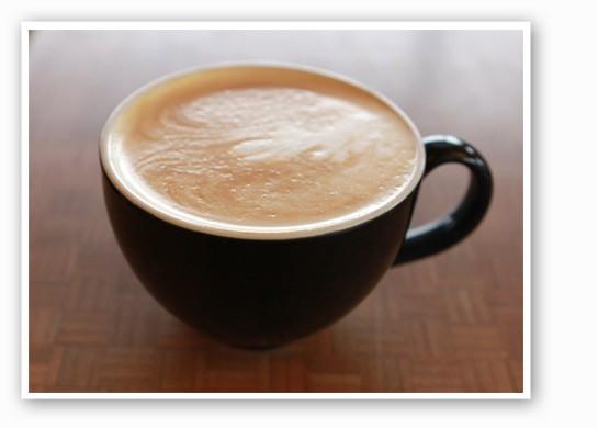 Get a vegan-friendly latte at Foundation Grounds. | Zoe Kline