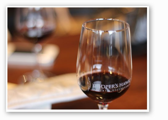 All of Cooper's Hawk's wines are in-house. | Nancy Stiles