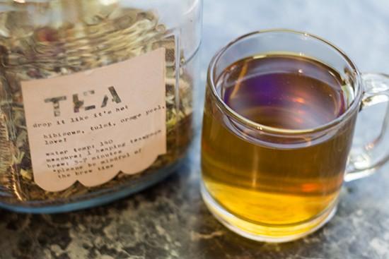 Hot tea from ReTrailer.
