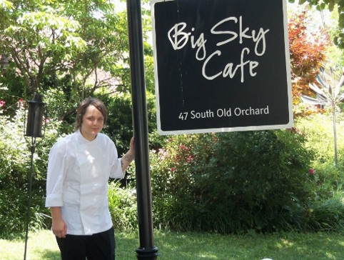 Chef Colleen Clawson of Big Sky Cafe. | Chrissy Wilmes