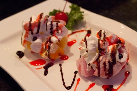 Mochi ice cream ($2.95). - MABEL SUEN