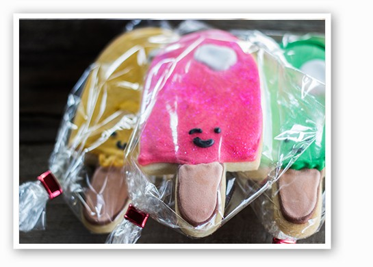 Sugar cookies come elaborately decorated. | Mabel Suen