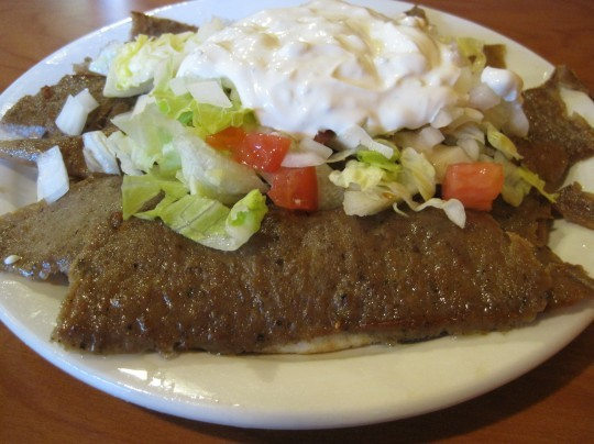 Gyros in the Loop: This newer restaurant claims to be the true heir to the original Gyro House. - SARAH BARABA