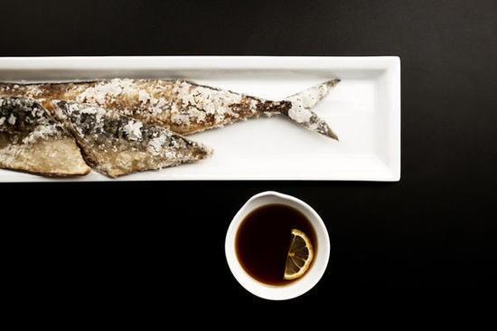 The fried saba (mackerel) at Izakaya Ren - JENNIFER SILVERBERG