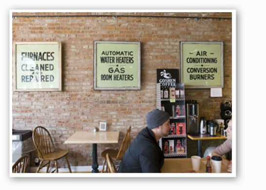 Inside Local Harvest Cafe. | Jennifer Silverberg
