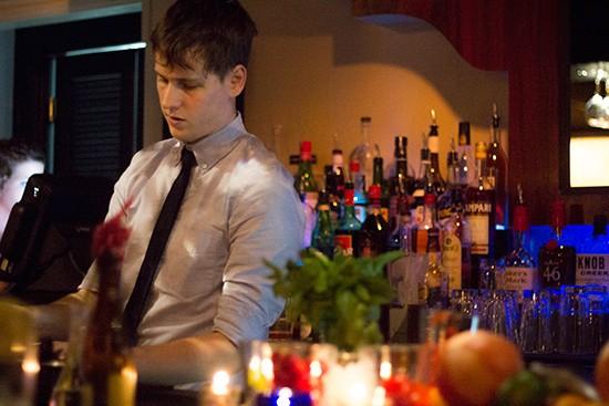 Bartender Luc Michalski. | Mabel Suen