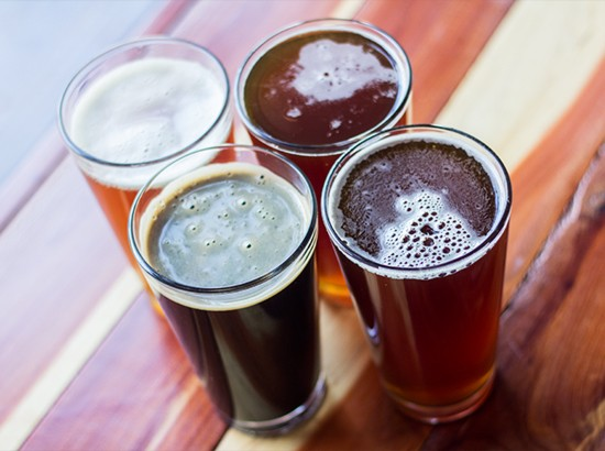 Step two: Choose a pint of one of the in-house brews.