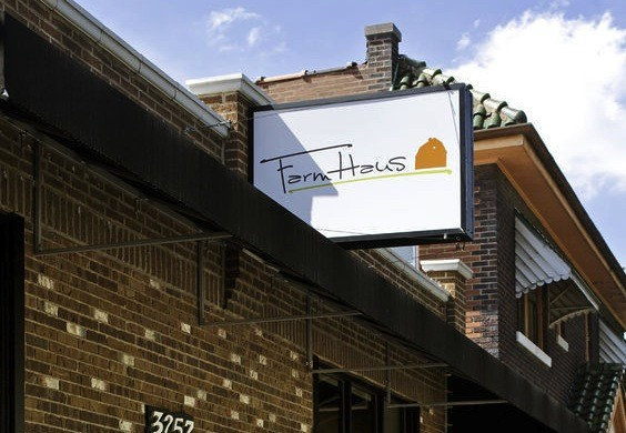 Farmhaus, Kevin Willmann's restaurant in Lindenwood Park | Jennifer Silverberg