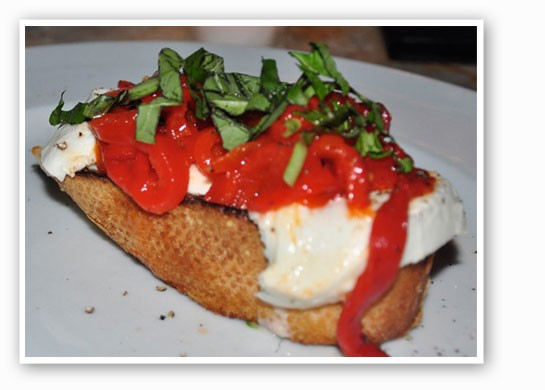 Bruschetta at I Fratellini. | Tara Mahadevan