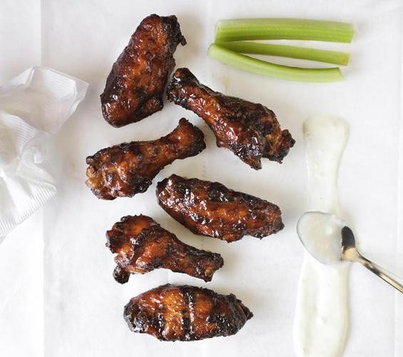 "The ""dirty"" wings at Flavors BBQ Sports Bar & Grill - JENNIFER SILVERBERG"