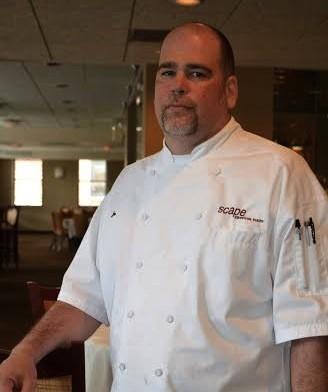 Executive chef Joe Everett of Scape American Bistro. | Courtesy Scape American Bistro