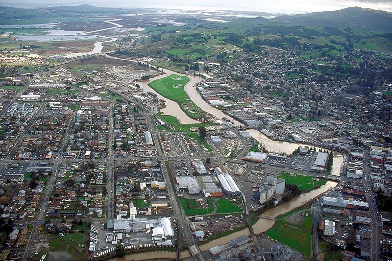 Petaluma, California, the home of Lagunitas Brewing Company - ROBERT CAMPBELL, WIKIMEDIA COMMONS