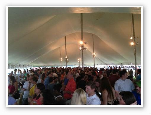 Massive tent. | Pat Kohm