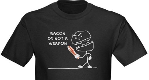 Make bacon, not war.