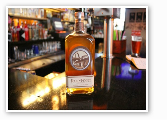 Still 630's Rally Point rye whiskey. | Zach Garrison