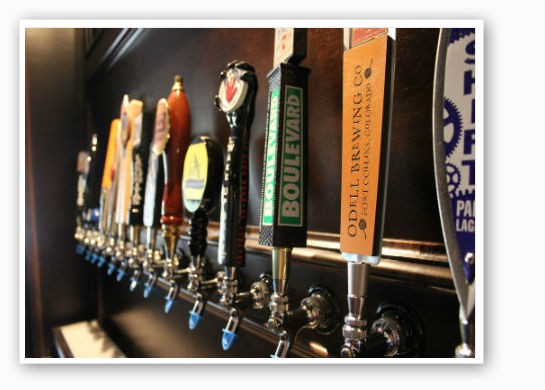 Guest tap lineup. | Pat Kohm