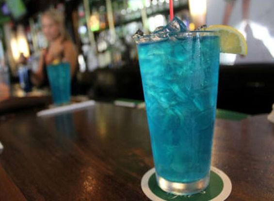 """The Blue Molly"" at Pat's. - PAT KOHM"