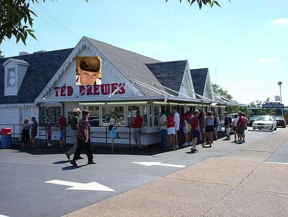 Artist's rendering of Ted Drewes Frozen Custard by Niche - IMAGE VIA