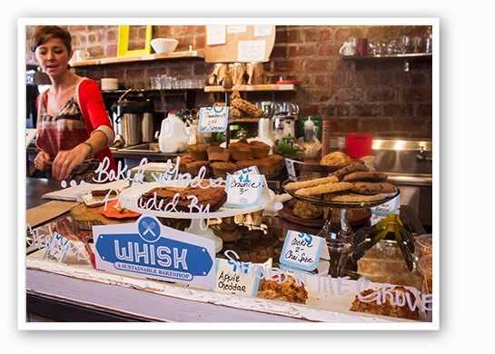 A variety of options from Whisk Bakeshop. | Mabel Suen