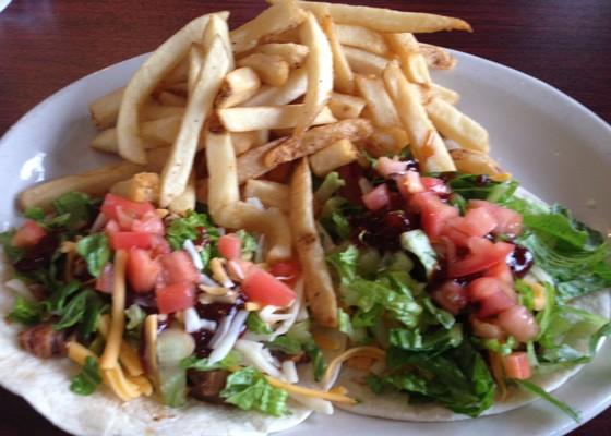 Brisket tacos. | Nancy Stiles
