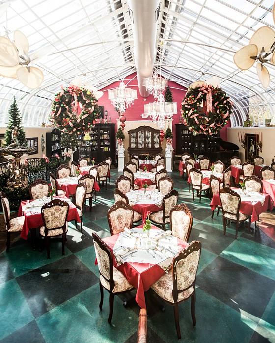 Inside Mary Ann's Tea Room. | Jennifer Silverberg