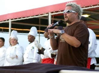 Guy Fieri, starring in exactly none of our proposed Food Network shows