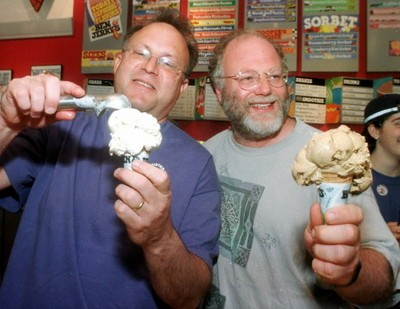 Ben and Jerry - IMAGE VIA
