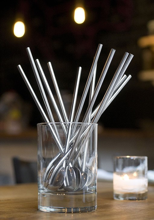 Tools of the trade... The mixologist's station, stirrers included. See a slideshow of photos from Taste by Niche. - PHOTO: JENNIFER SILVERBERG