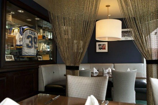 Inside Mike Shannon's Steaks and Seafood. - RFT PHOTO