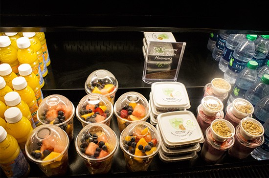 Fresh fruit parfaits also available.