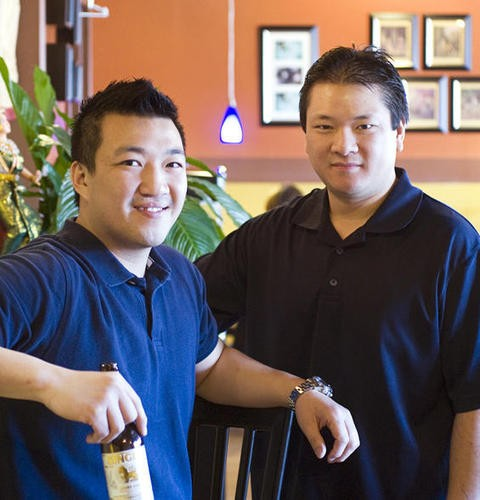 Tommy and Scott Truong, brothers and partners at Pearl Café - JENNIFER SILVERBERG