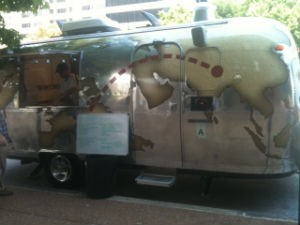 The Wanderlust Pizza Airstream - ROBIN WHEELER