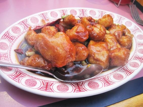 The General Tso's chicken at Shu Feng - IAN FROEB