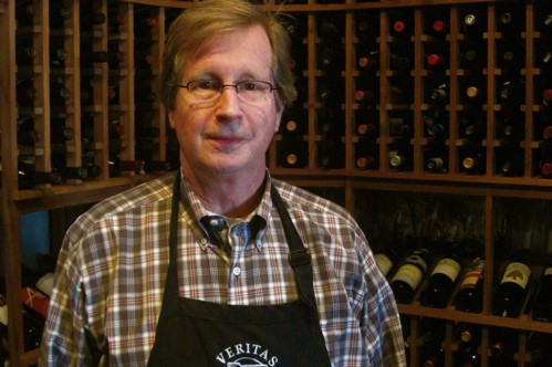 Today's wine man: David Stitt, proprietor of Veritas Gateway to Food and Wine in Chesterfield. - DAVE NELSON