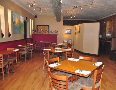 Inside Stellina Pasta Cafe | Tara Mahadevan