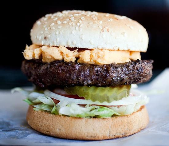 A burger at Dooley's Beef n Brew House - JENNIFER SILVERBERG